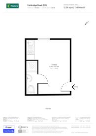 Large floorplan for Fairbridge Road, Archway, N19