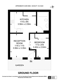 Large floorplan for Burchell Road, Peckham, SE15