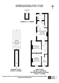 Large floorplan for Ecclesbourne Road, Thornton Heath, CR7