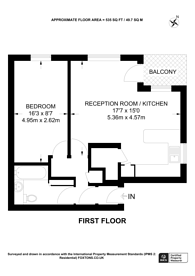 Large floorplan for Dyne Road, Queen's Park, NW6