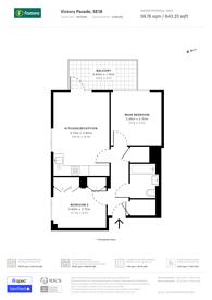 Large floorplan for Plumstead Road, Woolwich, SE18