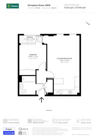 Large floorplan for Eltringham Street, Wandsworth Town, SW18