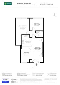Large floorplan for Grosvenor Terrace, Camberwell, SE5