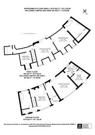 Large floorplan for Pitch Hill, Ewhurst, GU6