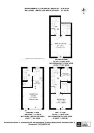 Large floorplan for Marylebone Gardens, East Sheen, TW9