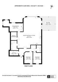 Large floorplan for Cumberland Mills, Isle Of Dogs, E14
