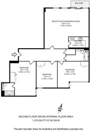 Large floorplan for Cavendish House, Monck Street, Victoria, SW1P