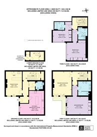 Large floorplan for Dorset Mews, Belgravia, SW1X
