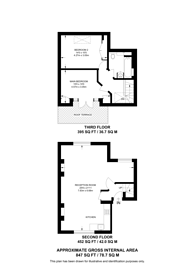 Large floorplan for Prince of Wales Road, Chalk Farm, NW5
