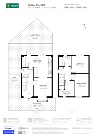 Large floorplan for Challice Way, Brixton Hill, SW2