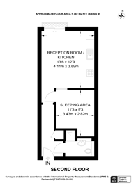 Large floorplan for Richmond Road, North Kingston, KT2