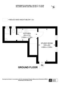 Large floorplan for Dunford House, Westbury Avenue Baptist Church, N22, Turnpike Lane, N22