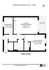 Large floorplan for Eythorne Road, Oval, SW9