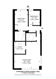 Large floorplan for Fitzroy Street, Fitzrovia, W1T