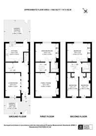 Large floorplan for Northwick Terrace, St John's Wood, NW8