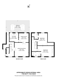 Large floorplan for Grosvenor Hill, Mayfair, W1K