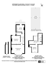 Large floorplan for Kingston Road, New Malden, KT3