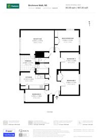 Large floorplan for Birchmore Walk, Highbury, N5