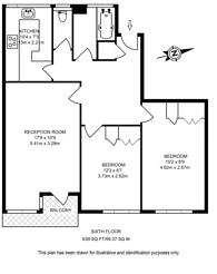 Large floorplan for Gilbert House, Westminster, Westminster, SW1V