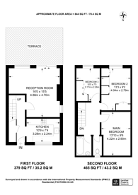 Large floorplan for Consort Road, Peckham, SE15