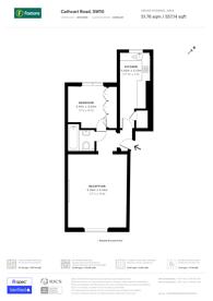 Large floorplan for Cathcart Road, Chelsea, SW10
