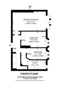 Large floorplan for Fulham High Street, Bishop's Park, SW6