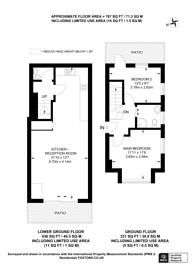 Large floorplan for St James's Park, Croydon, CR0