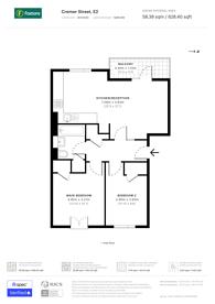 Large floorplan for Cremer Street, Shoreditch, E2