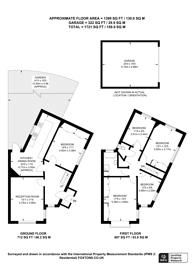 Large floorplan for Castleton Avenue, Wembley Park, HA9