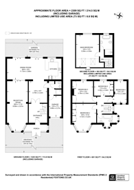 Large floorplan for Lewes Road, North Finchley, N12