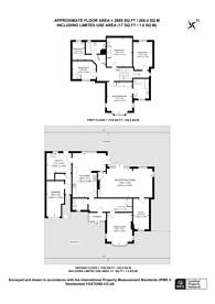Large floorplan for Witherby Close, Croydon, CR0