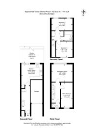 Large floorplan for Danemere Street, West Putney, SW15