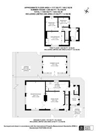 Large floorplan for Lower Morden Lane, Morden Park, SM4