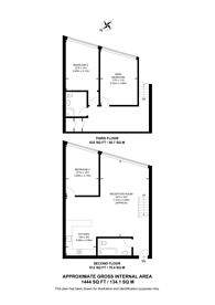 Large floorplan for Eagle Wharf Road, Islington, N1