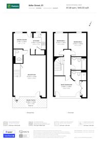 Large floorplan for Adler Street, Aldgate, E1