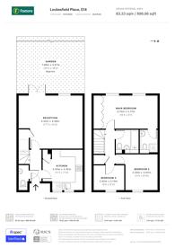 Large floorplan for Lockesfield Place, Canary Wharf, E14