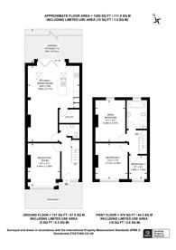 Large floorplan for Tremaine Road, Anerley, SE20