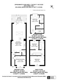Large floorplan for Blackshaw Road, Tooting, SW17