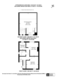 Large floorplan for Ashely Road, Crouch End, N19