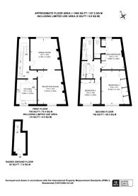 Large floorplan for Blomfield Road, Little Venice, W9