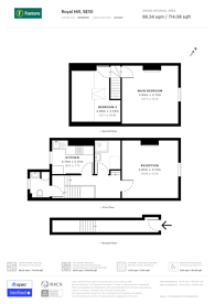 Large floorplan for Royal Hill, Greenwich, SE10