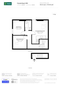 Large floorplan for Friends Road, East Croydon, CR0