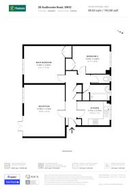 Large floorplan for Sudbrooke Road, Clapham, SW12