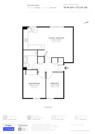 Large floorplan for Stott Close, Wandsworth, SW18