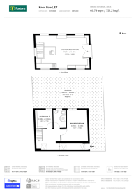 Large floorplan for Knox Road, Forest Gate, E7