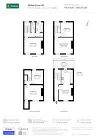 Large floorplan for Ritchie Street, Islington, N1