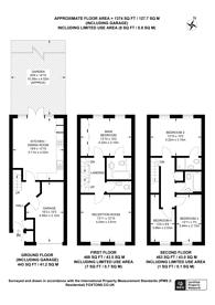 Large floorplan for Kingswood Drive, Sutton, SM2