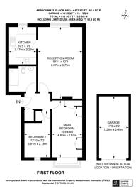Large floorplan for Holmwood Gardens, Sutton, SM6