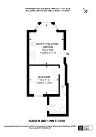Large floorplan for Portway, Stratford, E15