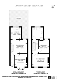Large floorplan for Holbrook Road, Stratford, E15